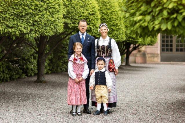 Die Familie der Kronprinzessin Victoria