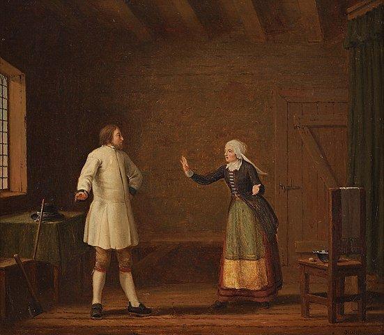 Barbro Stigsdotter hilft Gustav Vasa bei seiner Flucht aus Ornäs