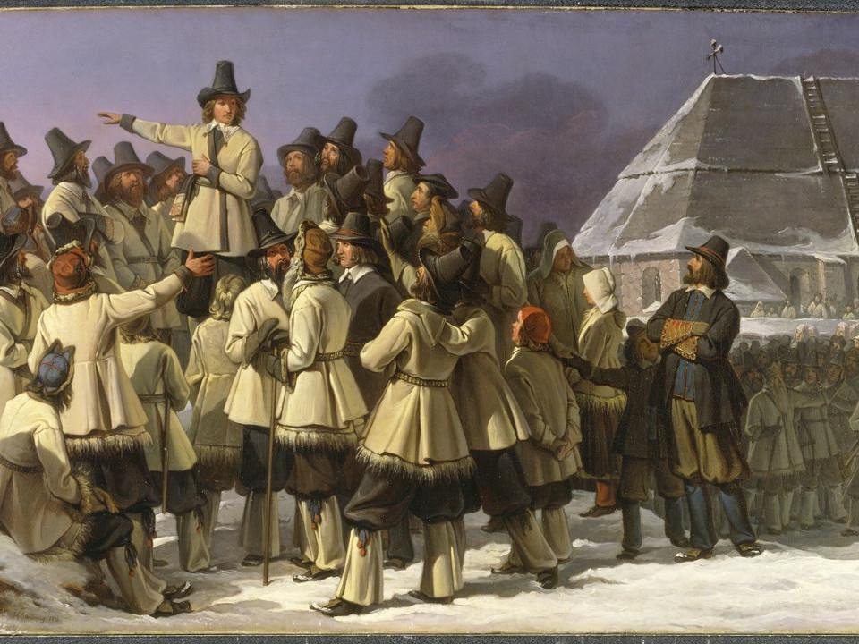 Gustav Vasas Abenteuer in Dalarna: Ansprache in Mora