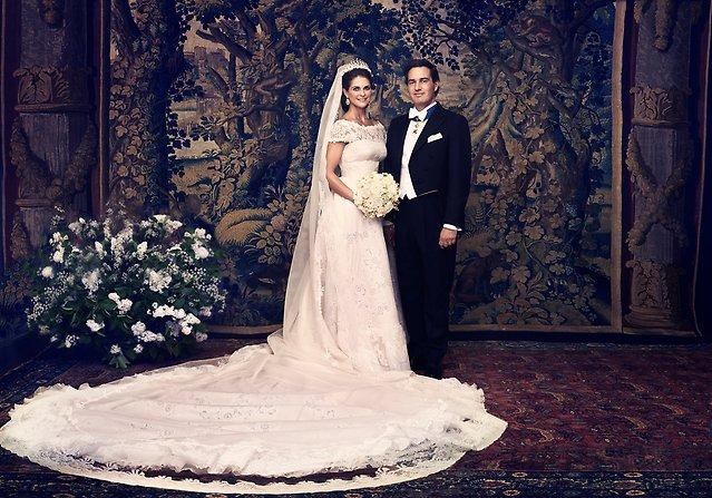 Hochzeit von Prinzessin Madeleine und Christopher O'Neill