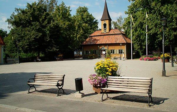 Sigtuna - Das kleinste Rathaus Schwedens