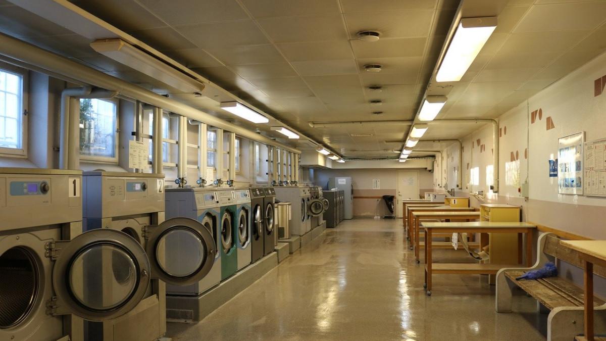 Schweden in der Waschküche