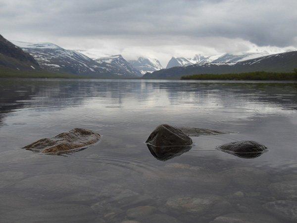 Natur pur in Lappland