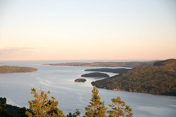 Höga kusten in Schweden