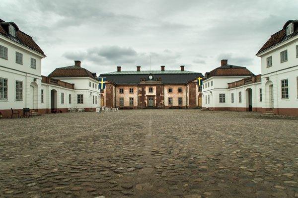 Övedskloster in Skåne, Schweden