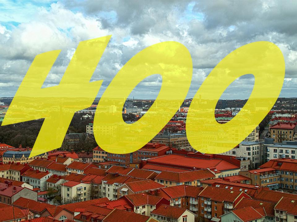 Göteborg wird 400