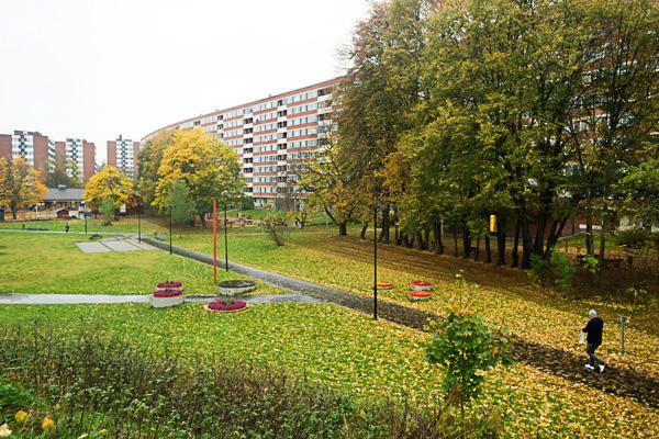 Vorort von Stockholm